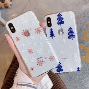 NEW iPhone Max/XR/X/XS/78/+ Christmas case